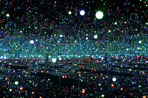 Yayoi Kusama, Infinity Mirrored Room - Filled with the brilliance of life.