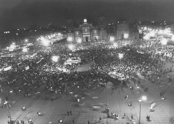 Πλατεία Zocalo, Μεξικό, 1968
