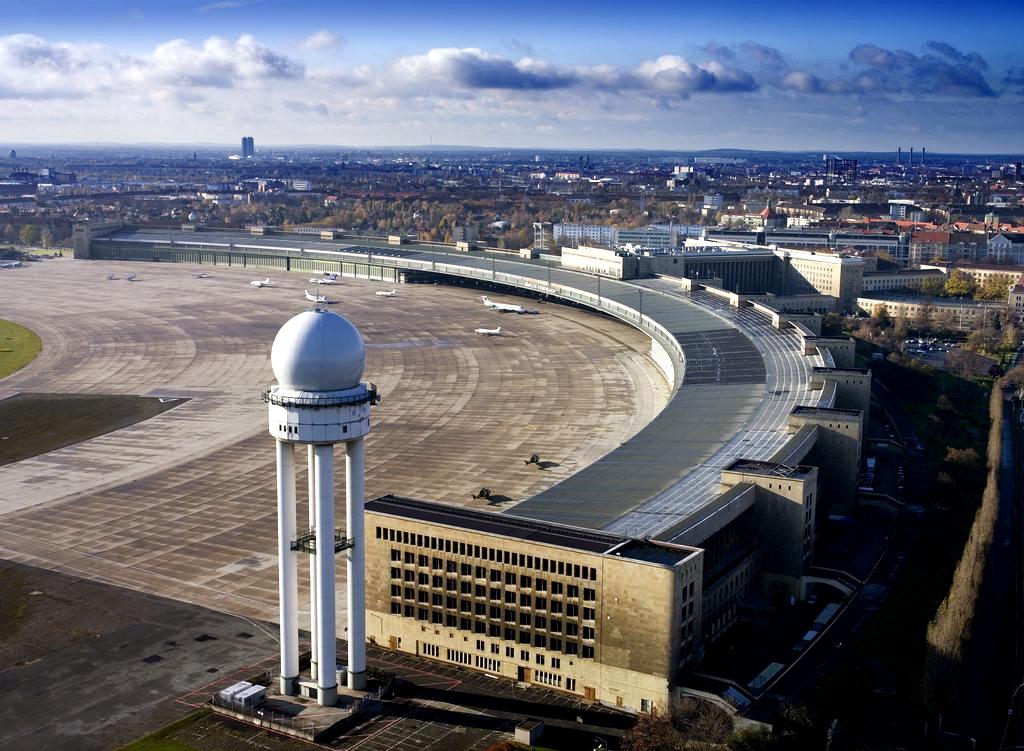 Flughafen Berlin-Tempelhof, Luftbild