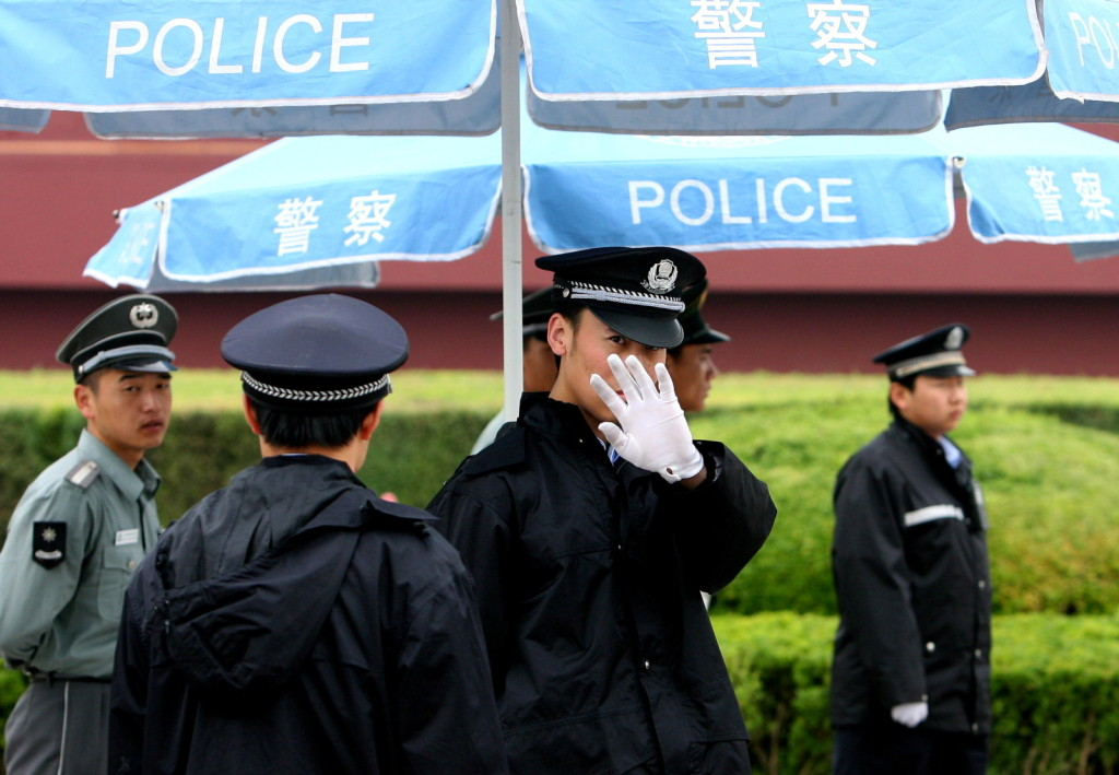 Before the anniversary of the 1989 Tiananmen Square protests authorities have raised the security level