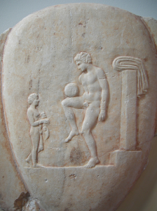 football in ancient Greece