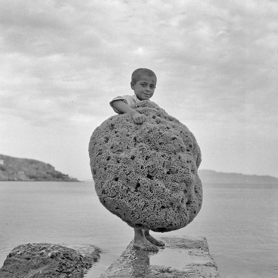 Κάλυμνος, 1950 Φωτογραφία του Δημήτρη Χαρισιάδη Φωτογραφικά Αρχεία Μουσείου Μπενάκη