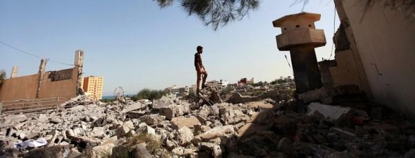 MIDEAST ISRAEL PALESTINIAN AIRSTRIKES