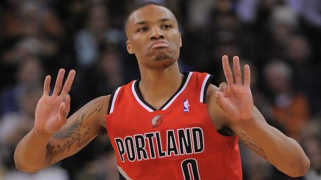 NBA: Portland Trail Blazers at Golden State Warriors