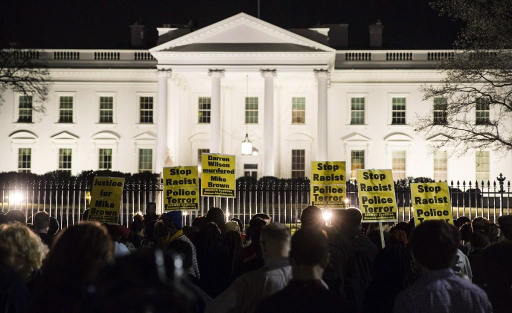 Διαδηλώσεις στον Λευκό Οίκο