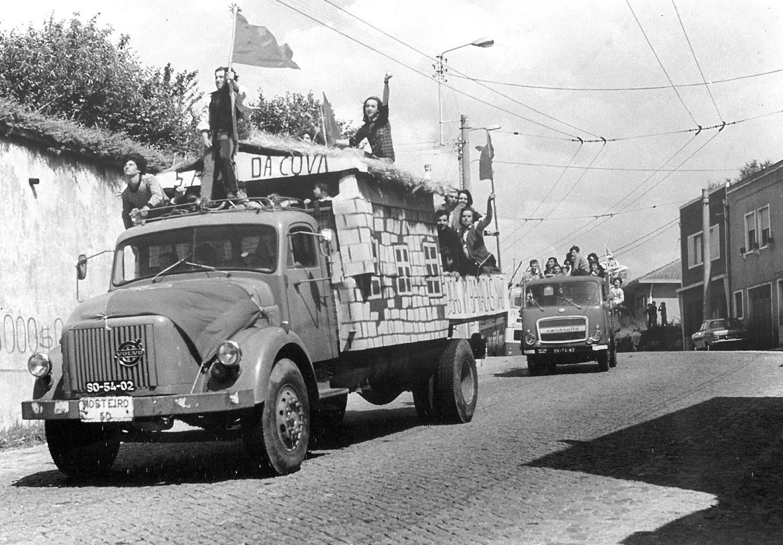 Κινητοποίηση ενάντια στο νόμο που απαγόρευε τις καταλήψεις, (Σαο Πεδρο ντε Κοβα, 1976