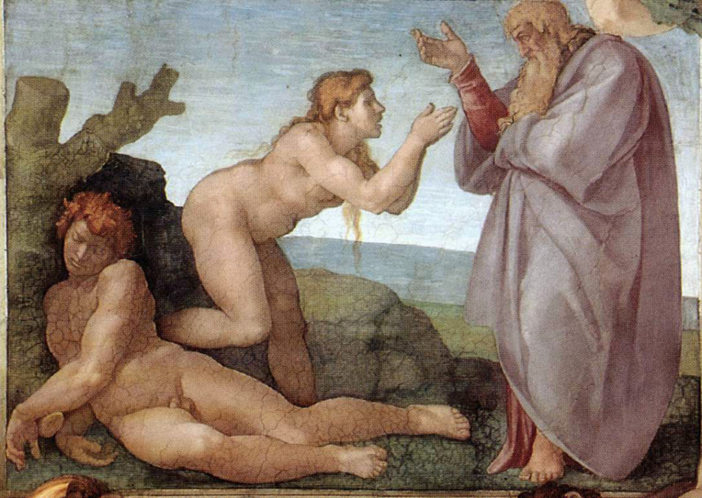 Michelangelo,_Creation_of_Eve