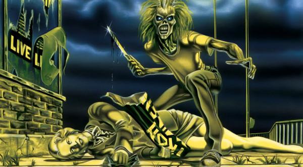 όταν ο Εddie των Iron Maiden «σκότωνε» τη Θάτσερ που έσκιζε μια αφίσα του συγκροτήματος, πολύ πριν το 2013