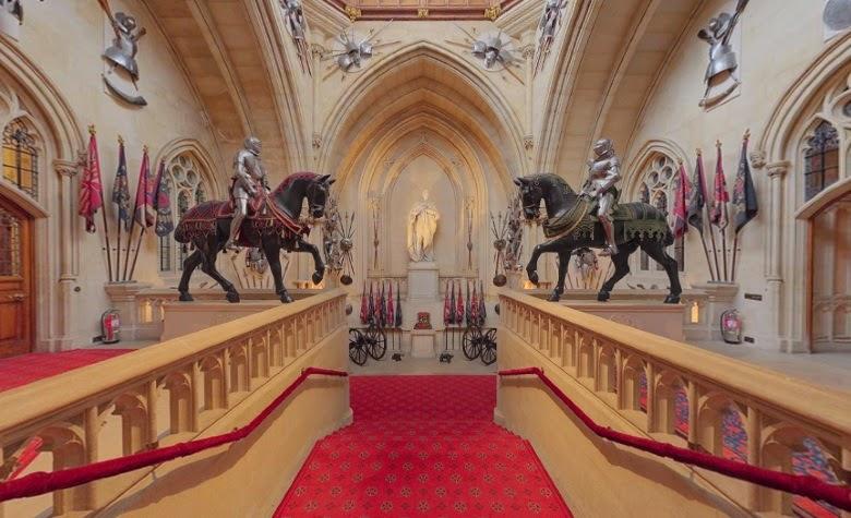 Εσωτερικό του κάστρου Ουίνσδορ