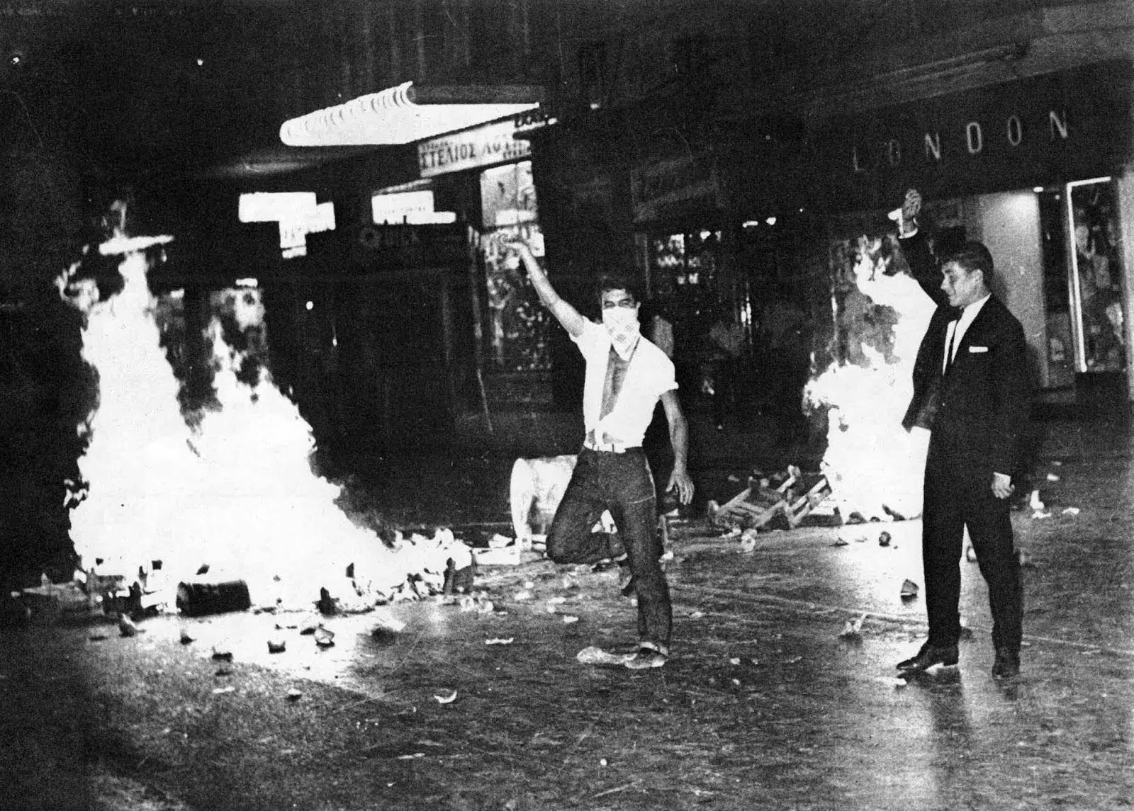 3- Διαδηλώσεις στα ιουλιαανά