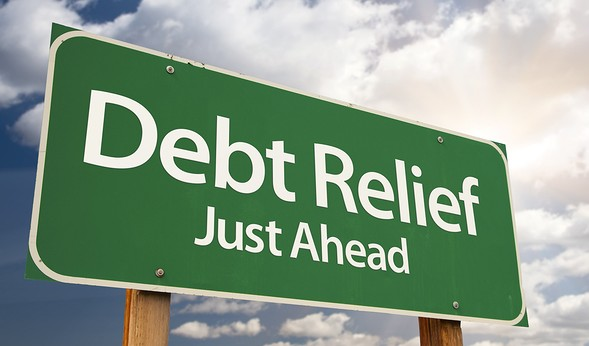 Debt-Relief-Just-Ahead-Green-