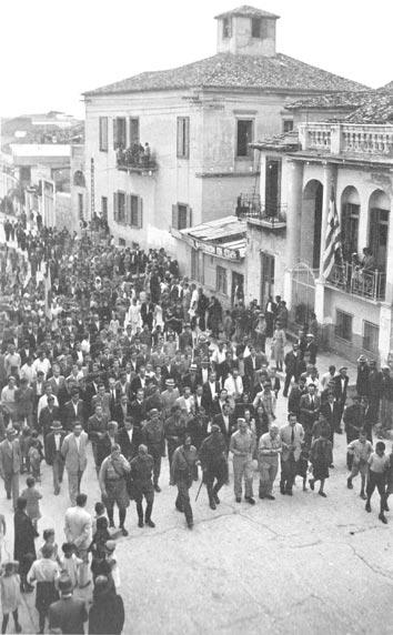 Εορτασμός της τρίτης επετείου από την ίδρυση του ΕΑΜ, 27.9.1944
