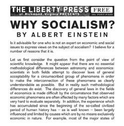 Why Socialism
