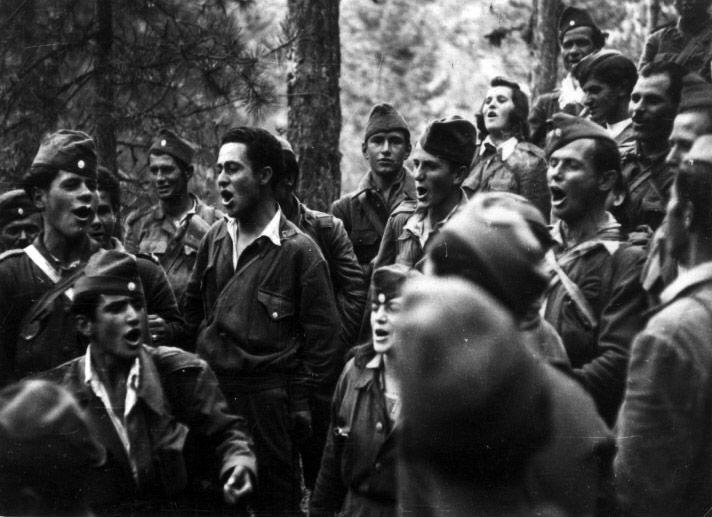 Αντάρτες τραγουδούν, Ορεινή Μακεδονία
