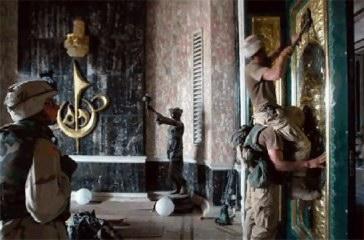 us-troops-looting-μουσειο-βαγδατη