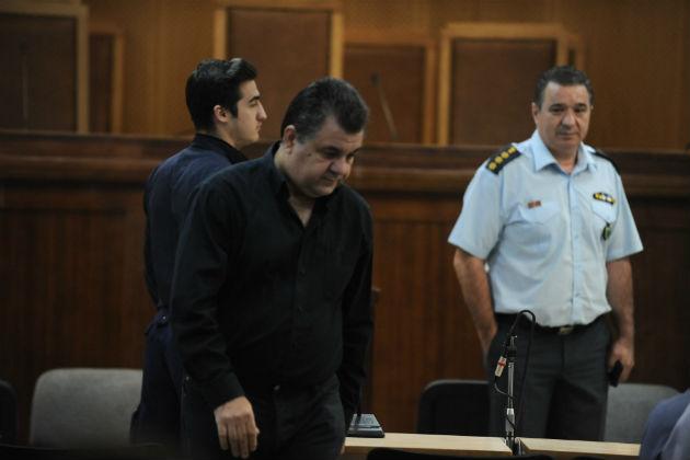 Ο δολοφόνος του Παύλου Φύσσα, Γιώργος Ρουπακιάς | ΕUROKINISSI / ΤΑΤΙΑΝΑ ΜΠΟΛΑΡΗ