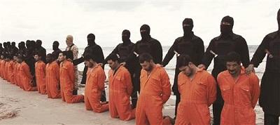 Daesh-Coptes-Exécution