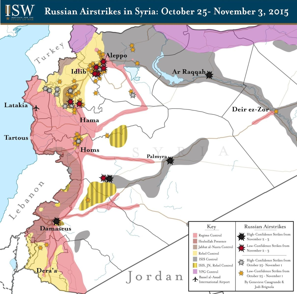 Ρωσικές αεροπορικές επιδρομές μέχρι τις 3 Νοεμβρίου 2015