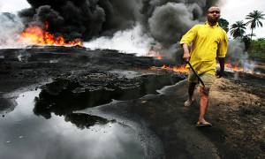 nigeria - oil spill - shell