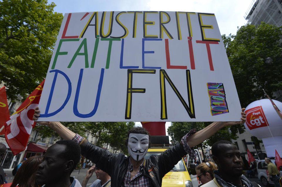 FN lit austerité
