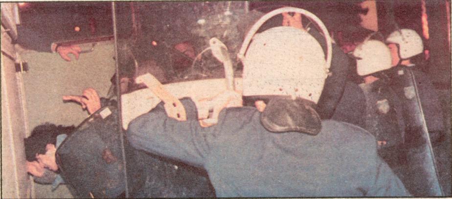 Ξυλοδαρμός συλληφθέντων από το Χημείο