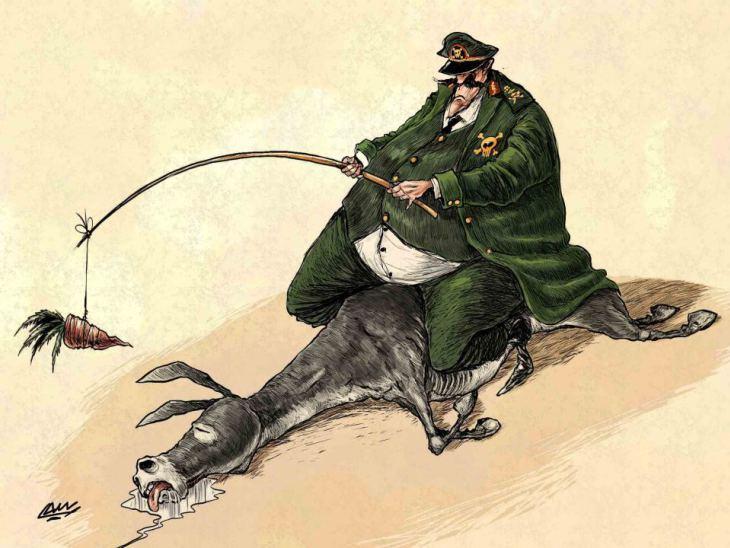 cartoon austerity