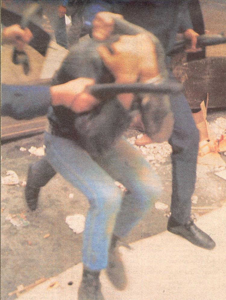 Αστυνομικός αυταρχισμός εναντίον διαδηλωτών