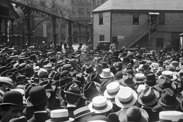 Emma Goldman Speaks At Union Square