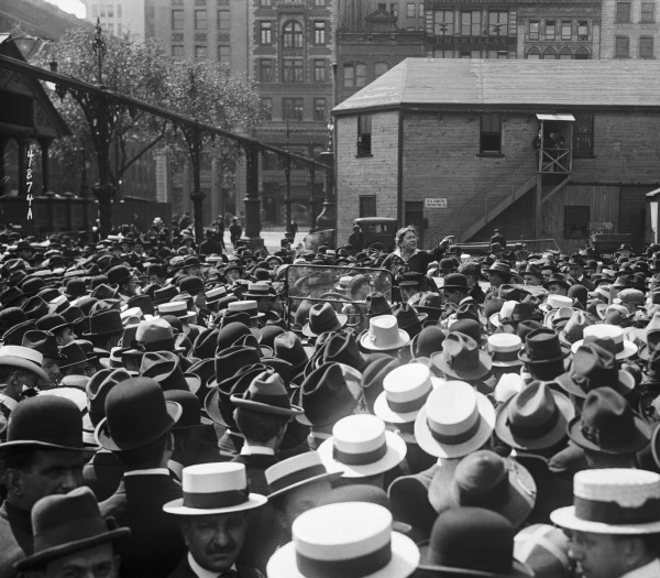 Emma Goldman Speaks At Union Square