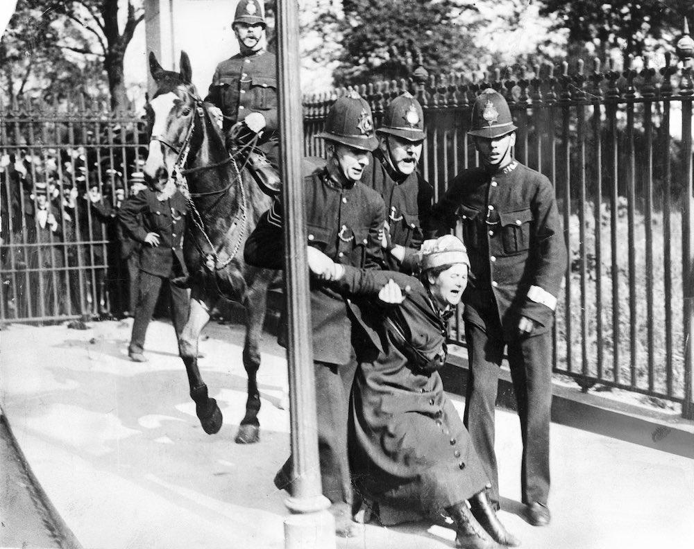 Suffragette, c 1910.