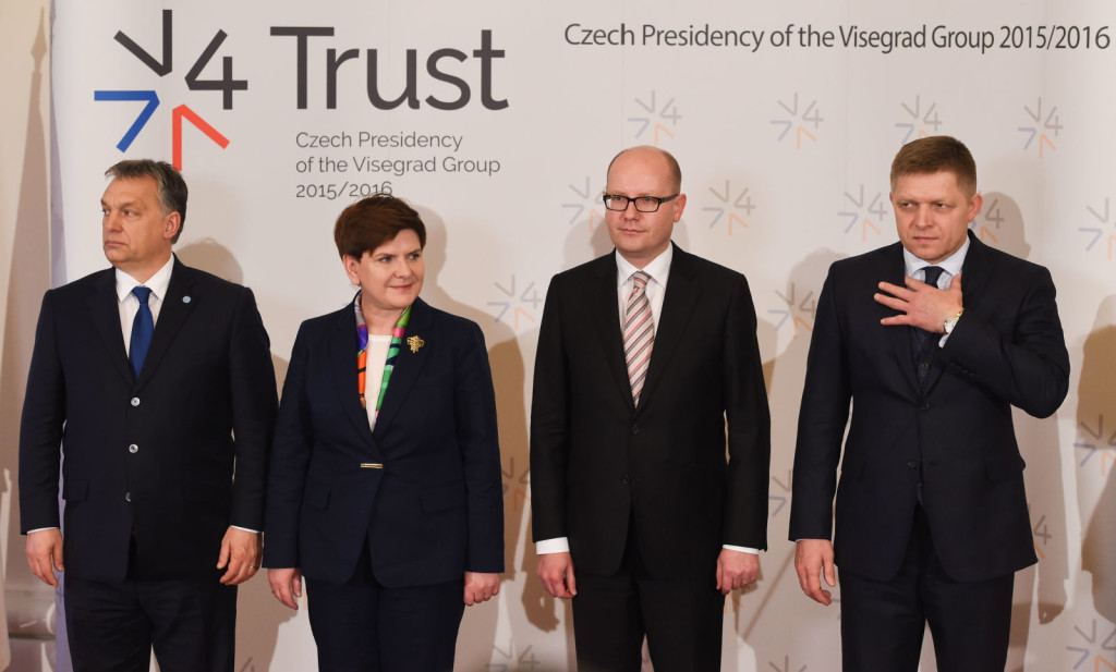Summit of heads of state of the Visegrad Group countries