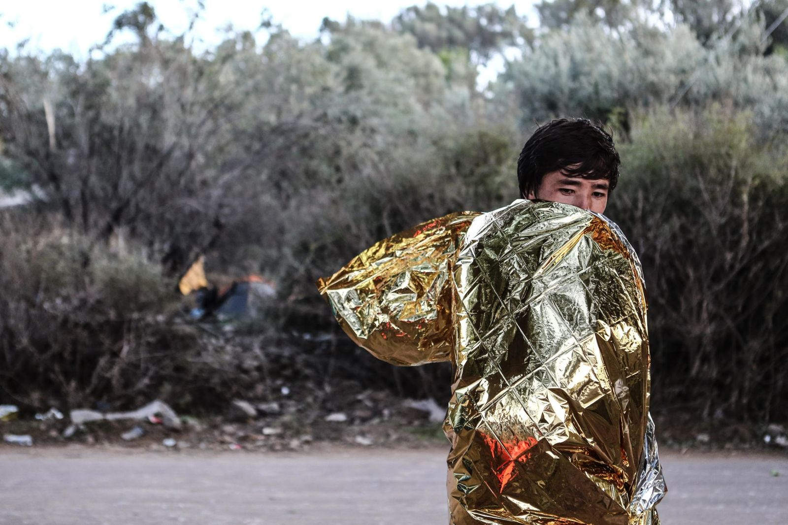 Lesbos, Greece on October 18, 2015. / Λέσβος, 18 Οκτωβρίου 2015.