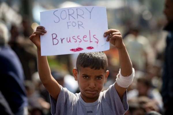sorry for bruxelles