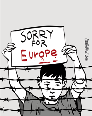 sorry for europe