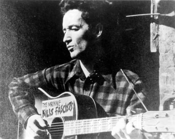 Photo of Woody Guthrie