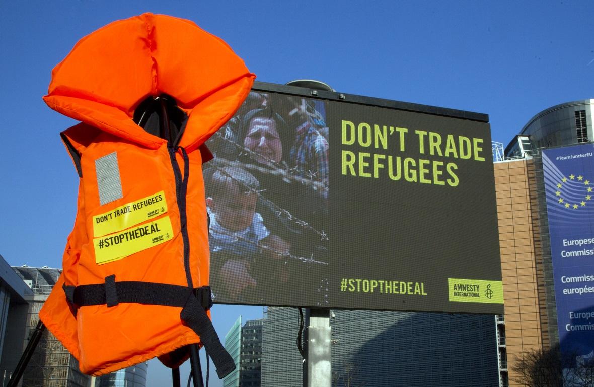 Belgium Europe Migrants