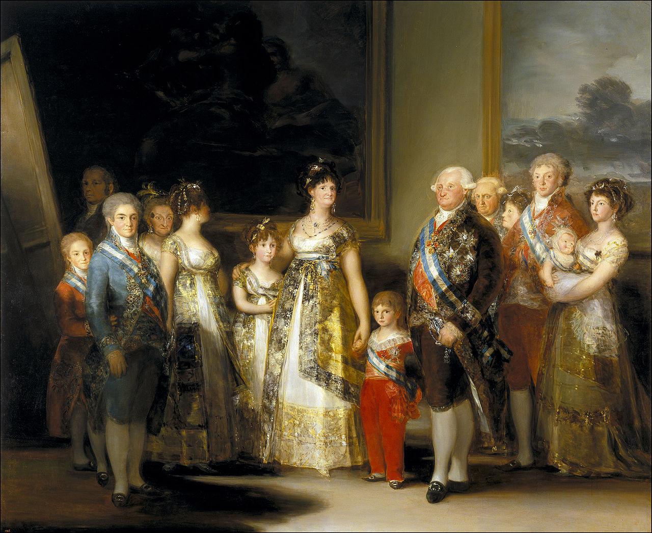 γκογια-Οικογένεια του Κάρολου Δ'