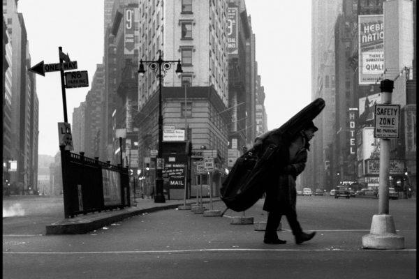 USA. NYC. 1958. Bill CROW.