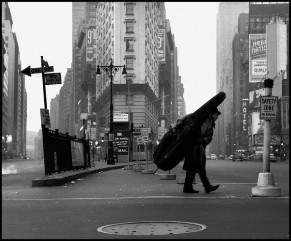 USA. NYC. 1958. Bill CROW.