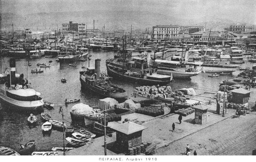 Πειραιάς, 1910