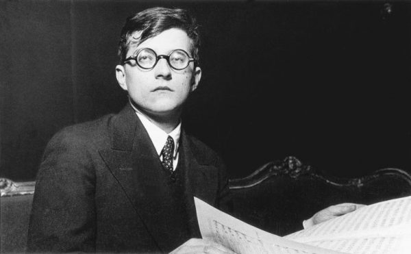 Shostakovich in 1933, after completing his opera Lady Macbeth of Mtensk