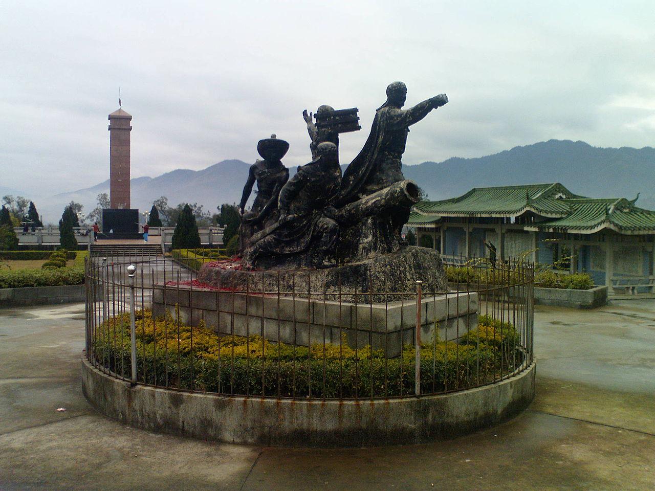 Ιστορικό μνημείο της εξέγερσης των Ταϊπίνγκ στην πόλη Μενγκσάν της επαρχίας Γκουανγκσί, η οποία ήταν η αρχική έδρα των επαναστατών Ταϊπίνγκ