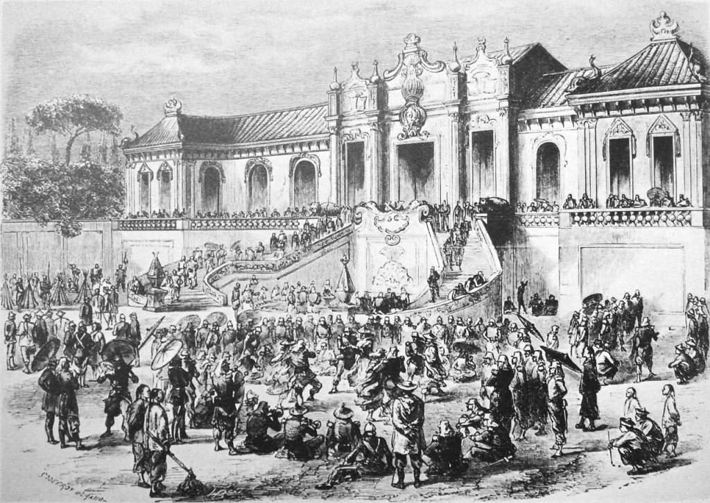 Η λεηλασία των Θερινών Ανακτόρων από τις αγγλο-γαλλικές δυνάμεις το 1860