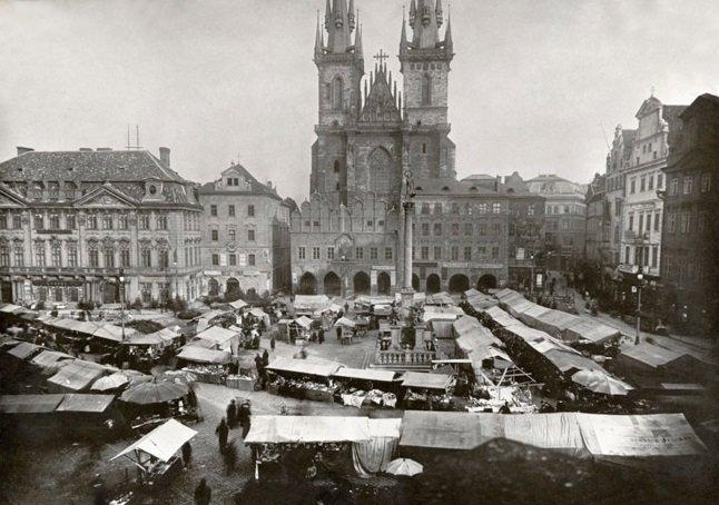 Πράγα, 1900