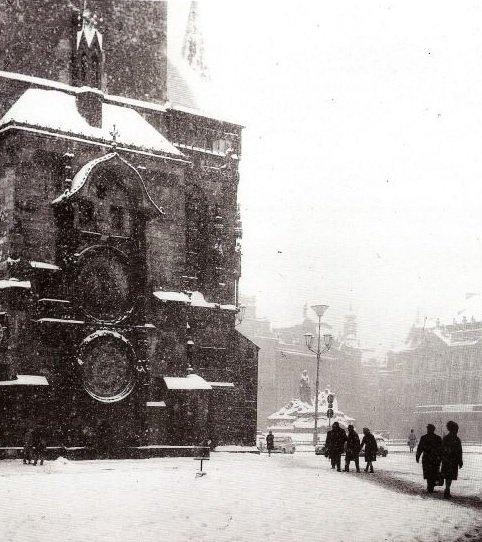 Staroměstské náměstí – 1949