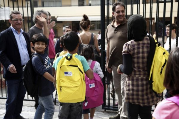προσφυγόπουλα σχολείο