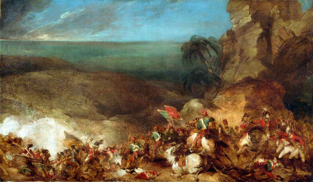 Porter, Robert Ker; The Battle of Alexandria, 21 March 1801; National Army Museum; http://www.artuk.org/artworks/the-battle-of-alexandria-21-march-1801-182853