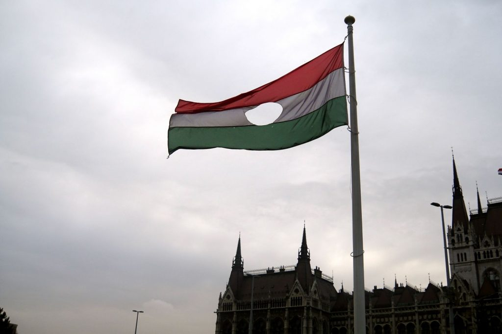 hungary-flag-with-center-cut-out