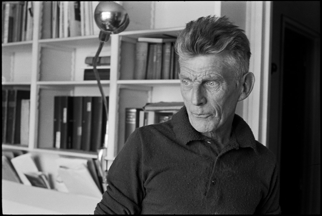 Irish playwright Samuel BECKETT. 1964.