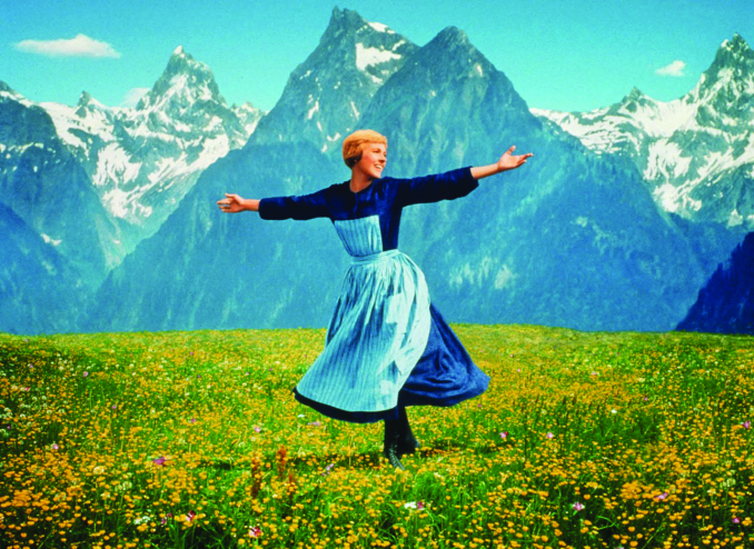 """Julie Andrews appears in the 1965 film """"The Sound of Music."""" (Gannett News Service/Fox Video/File)"""